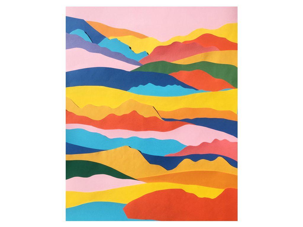 Lules Fiorenza - Los dias preferidos - 28 x 20 inches - Mixed media