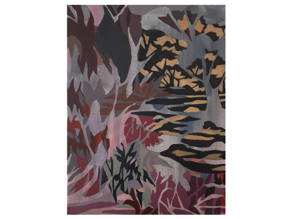 """Lucía-Spotorno - """"Alta Gracia"""" - 14 x 10 inches - Acrylic on canvas - 2019"""